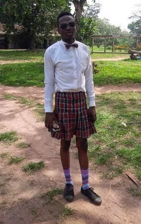 Male OAU Student Spotted Wearing Mini Skirt On Campus