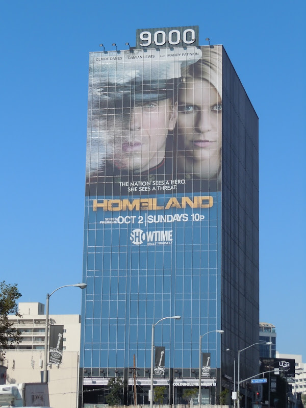 Homeland billboard Sunset Strip