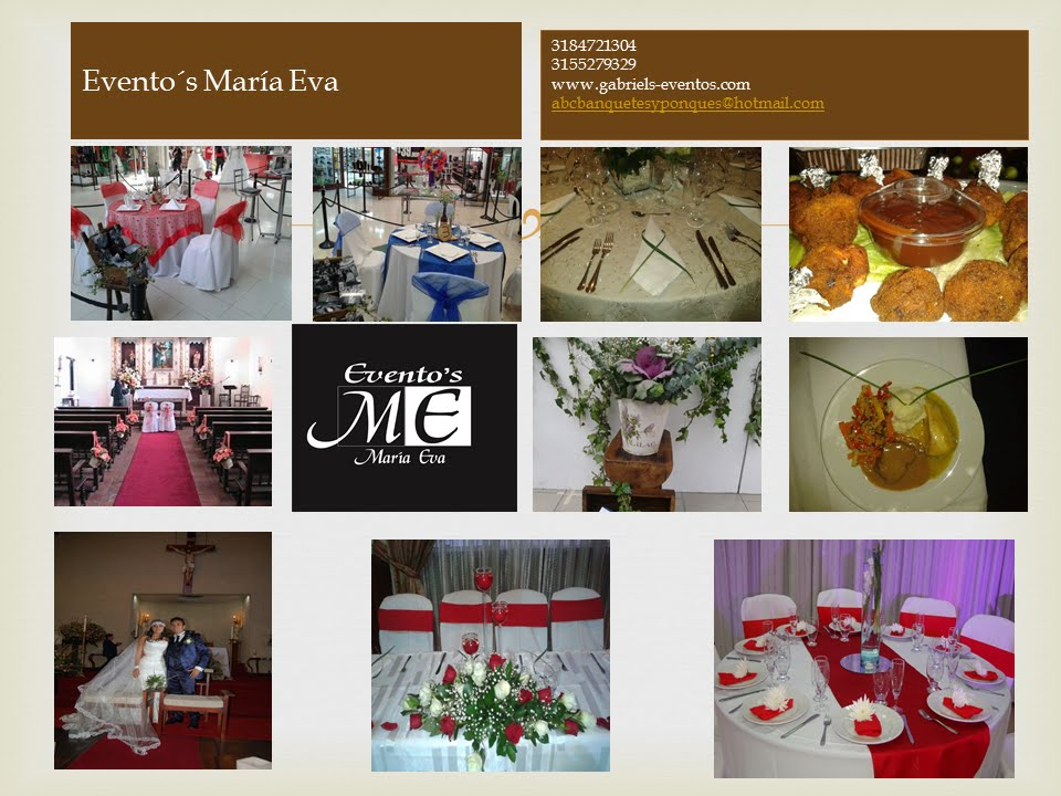 Events Planners By Maria Eva