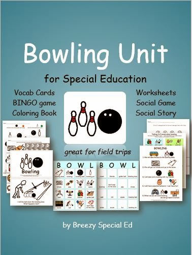http://www.teacherspayteachers.com/Product/Bowling-Unit-for-Special-Education-1126358