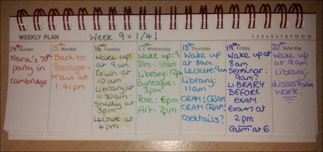 artbox week planner