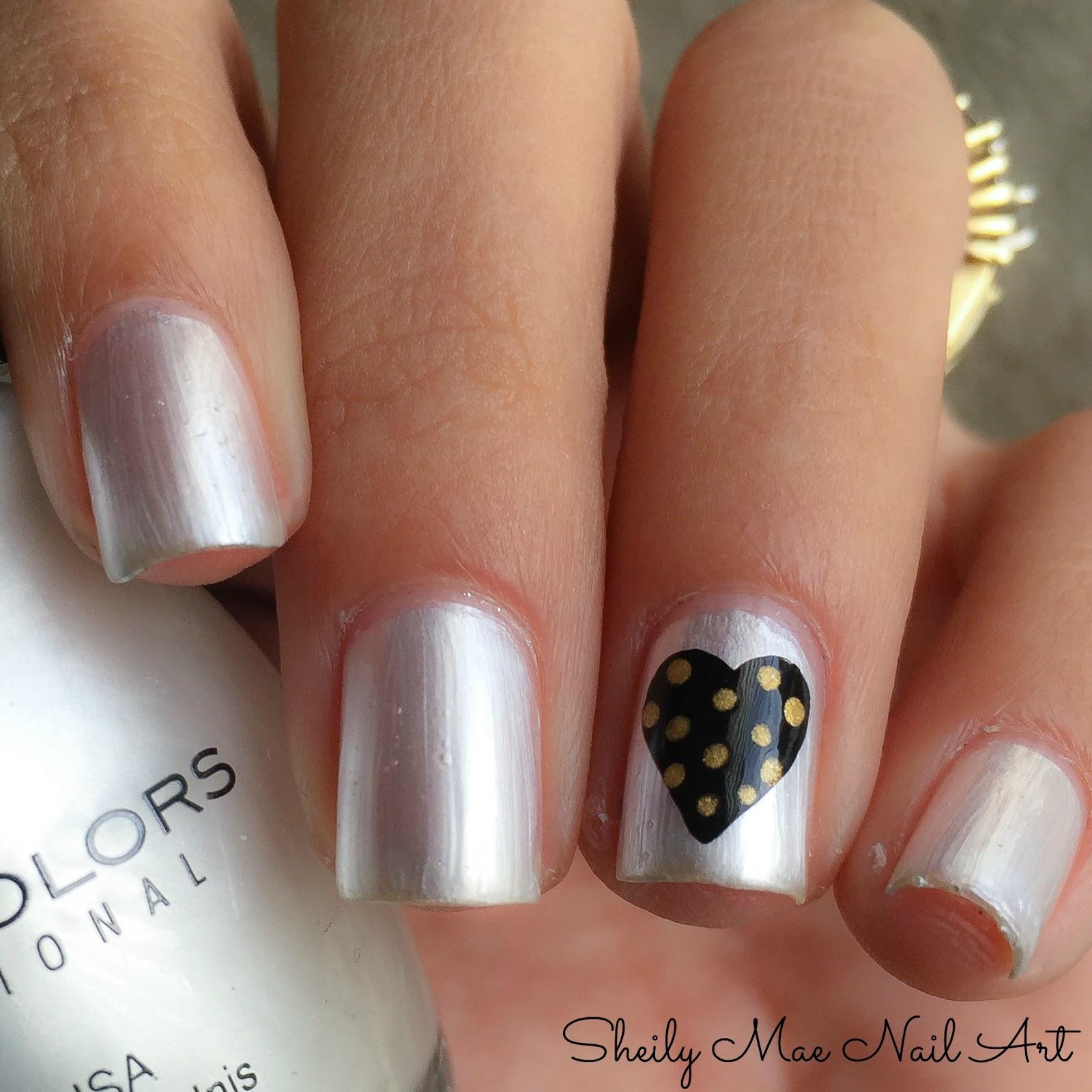 Black Gold Nail Art Sheily Mae Nail Art