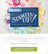 Catalogues Stampin'Up 2018-2019