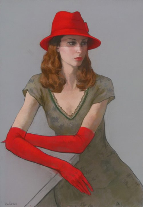 Katya Gridneva Катя Гриднева 1965 | Ukrainian Figurative Pastel painter