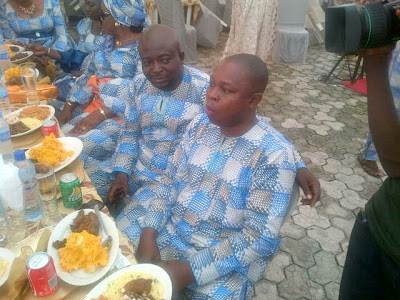 alhaji abdullahi at oga bello son wedding