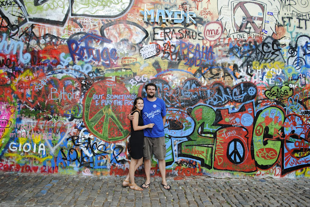 John Lennon Peace Wall, Prague