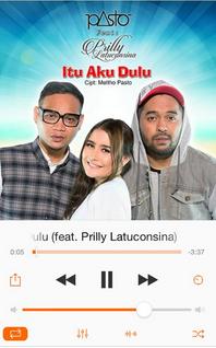 lirik lagu Prilly Latuconsina feat. Pasto