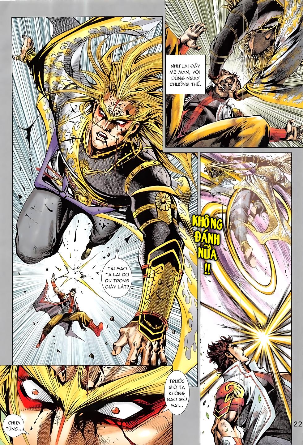 Thần Chưởng chap 24 – End Trang 22 - Mangak.info