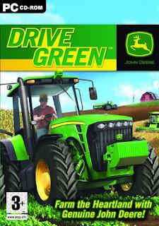 لعبة الجرارات John Deere Drive Green