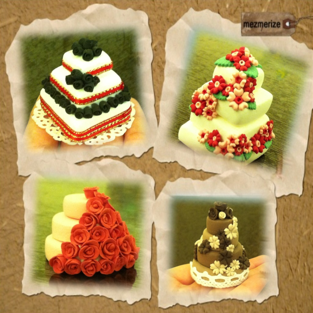 My paper clay projects my paper clay cakes pt 2 for Paper clay projects