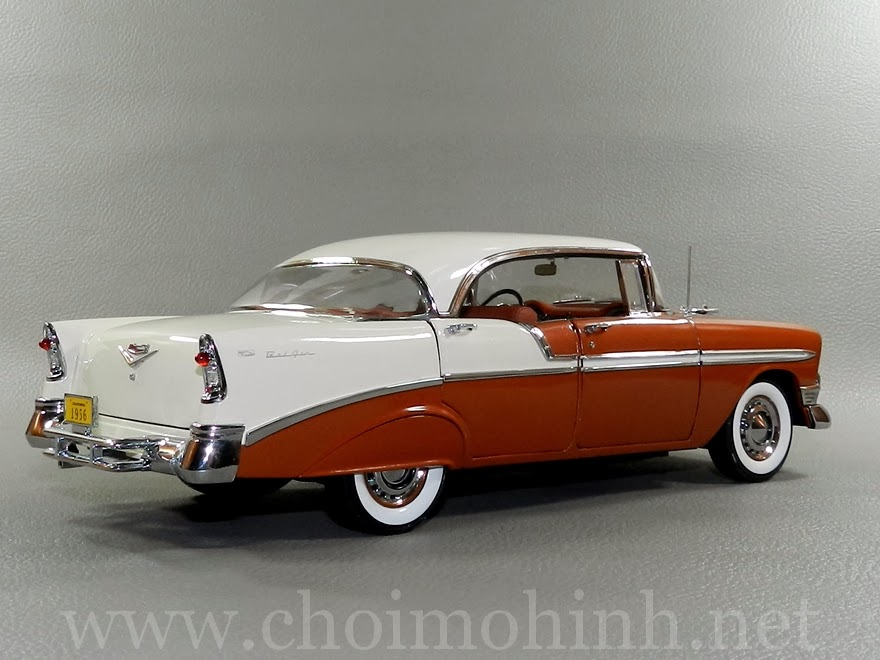 Chevrolet Bel Air 1956 1:18 Precision Miniatures back