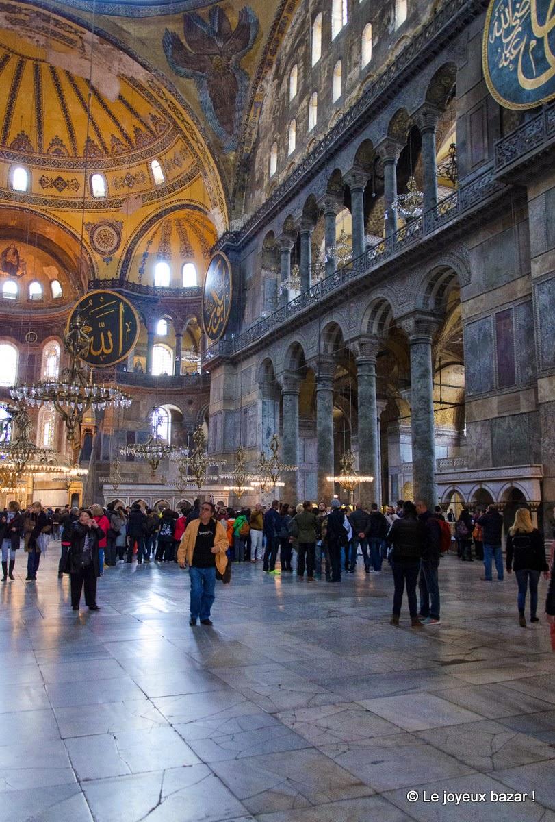 Istanbul - sultanahmet - sainte sophie