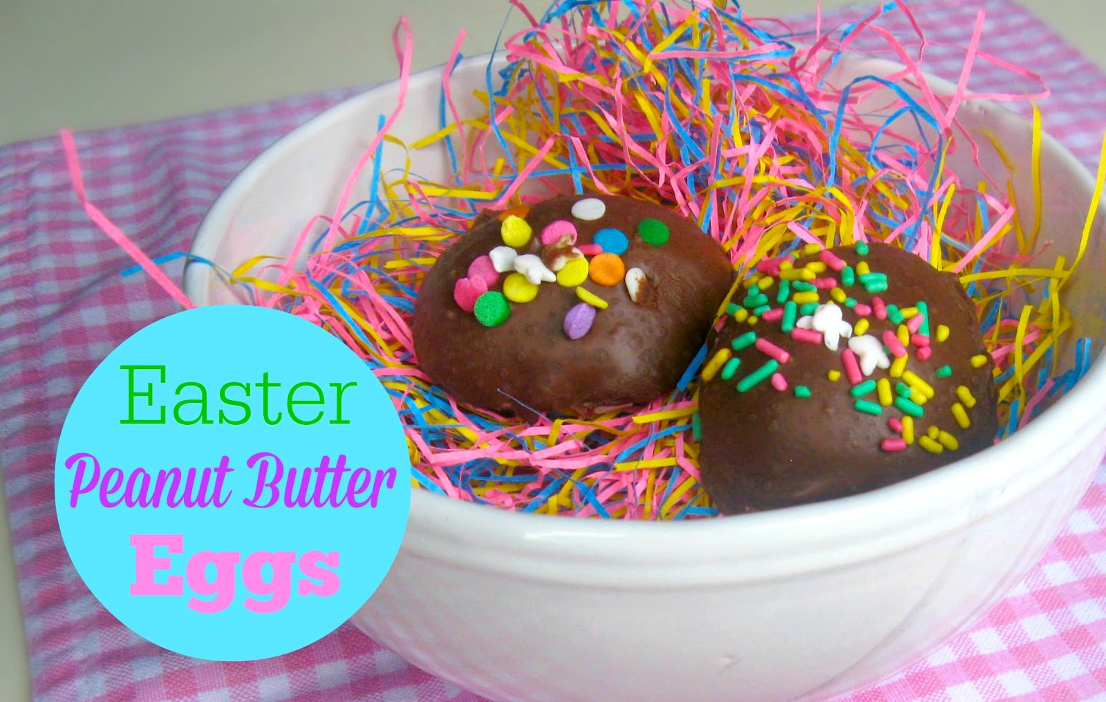 ... Covered Easter Peanut Butter Eggs {Copycat Reese's Peanut Butter Eggs