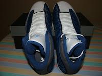 Air Jordan XIII - Blue and Flint
