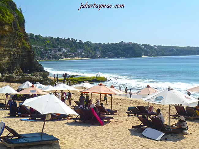 Playa de Dreamland en Bali
