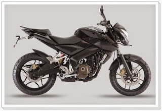 Bajaj Pulsar 200ns Black color