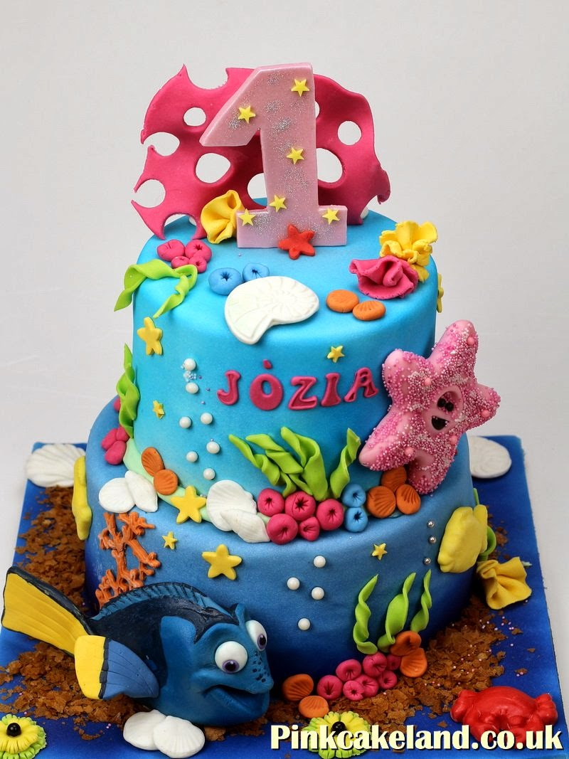 Finding Nemo Birthday Cake in London