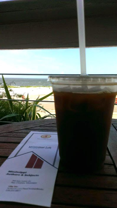 cat island coffee house view