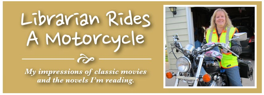Librarian Rides A Motorcycle