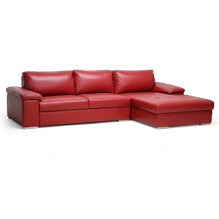 Red Sofa Stores Red Leather Sofa