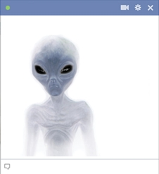 Facebook Alien Emoticon