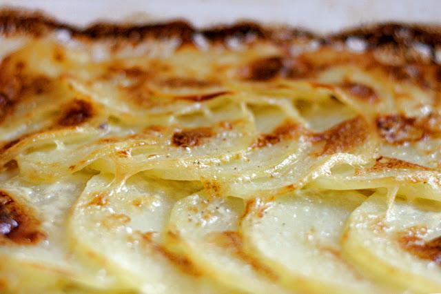 batata gratinada Fácil