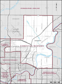 Strategic voting in Edmonton Manning