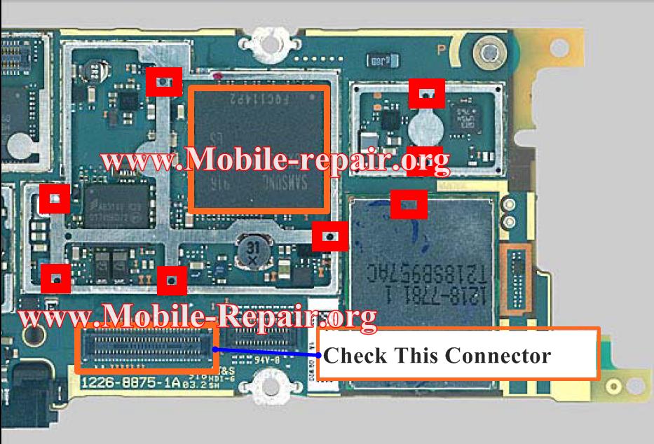 SonyEricsson U10i Aino Touch Screen Solution