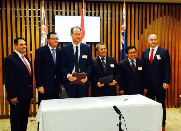 OJK dan Pemerintah Victoria Australia