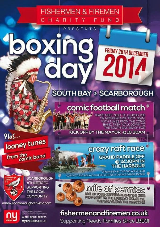 Boxing Day Events Poster