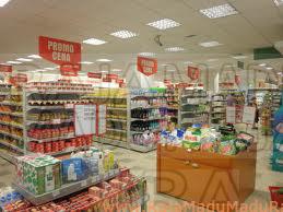 Permisalan penghitungan Biaya Masuk Supermarket