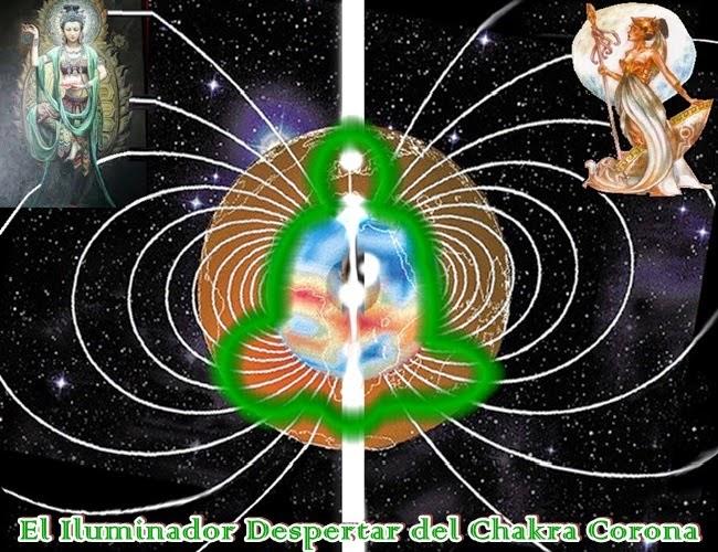 A través de nuestro amorosa frecuencia angelical te traemos nuestra Conciencia Divina de inspiración y sanación, para tocar tu Ser y Despertar la Iluminación del Chacra de la Corona.