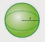 rumus luas permukaan bola dan rumus volume bola