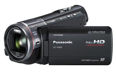 HC-X900 HD 3D Camcorder