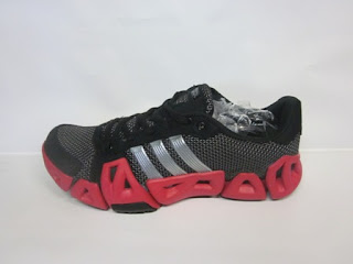 sepatu adidas climacool running, climacool hitam sol merah
