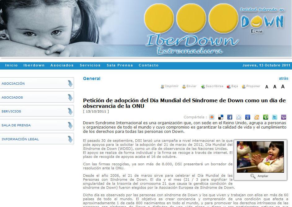 Pon un logopeda en tu vida | IberDown Extremadura