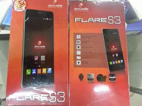 Cherry Mobile Flare S3 Available This Weekend For Php3,999