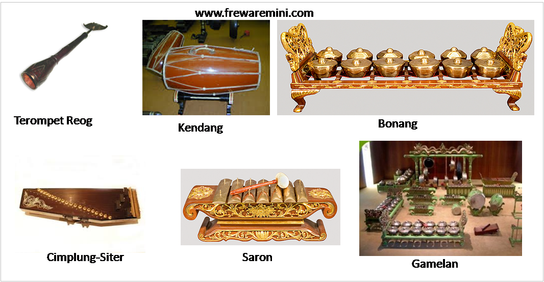 Alat musik tradisonal Jawa Timur