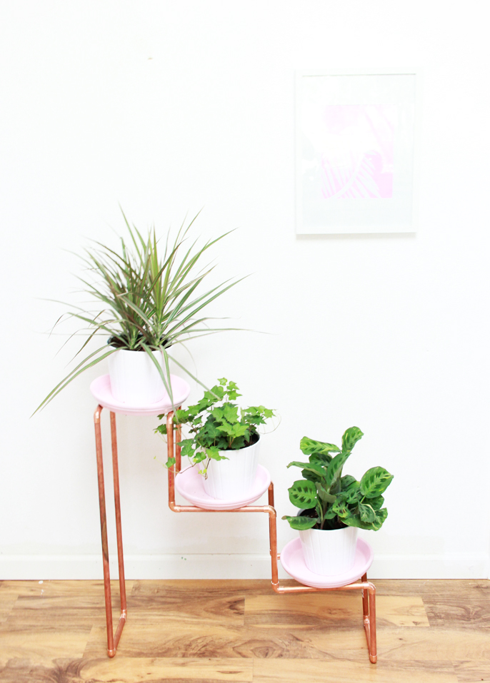 A Bubbly Life Diy 3 Tiered Copper Planter