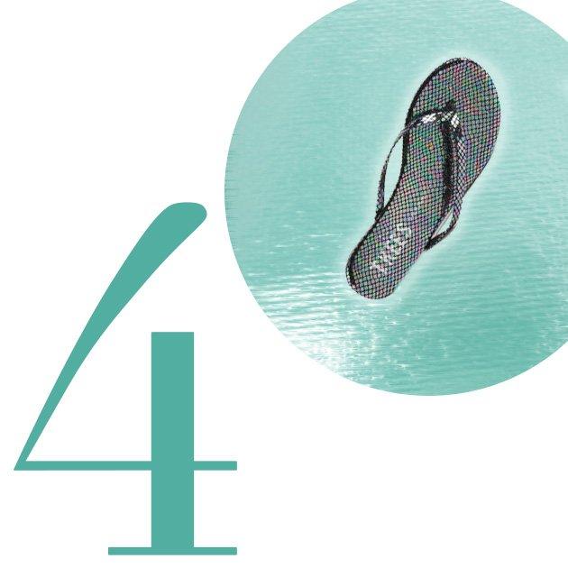 Top 5 Flip-Flops For Summer 2013: TKEES Face Paints Flip Flop