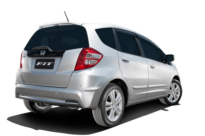 car in Honda Fit 2014