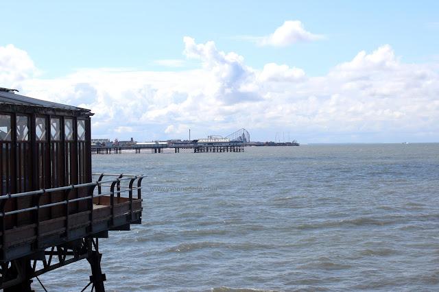 Blackpool North Pier and Sea