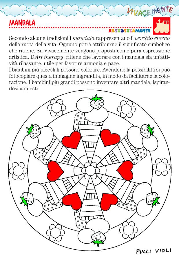 Top VIVACEMENTE con il cuore e con la mente: Mandala facili da  TJ58