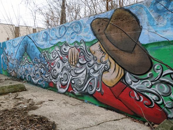 rip van winkle street art