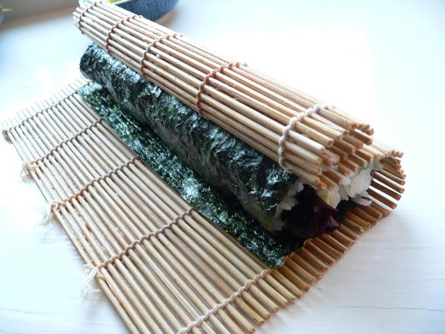 Bamboo Mat Sushi