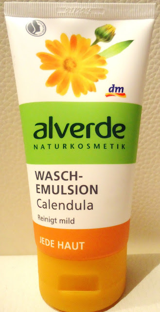 Nagietkowa emulsja myjąca do twarzy Alverde