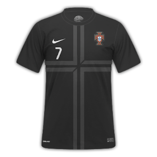 Portugal Nike Jersey Away kit 2013-2014