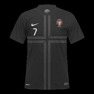 Portugal Nike Jersey Away kit 2013-2014