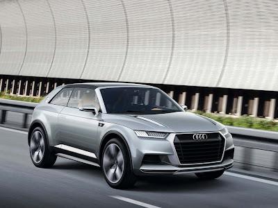 2012 Audi Crosslane Coupe Concept