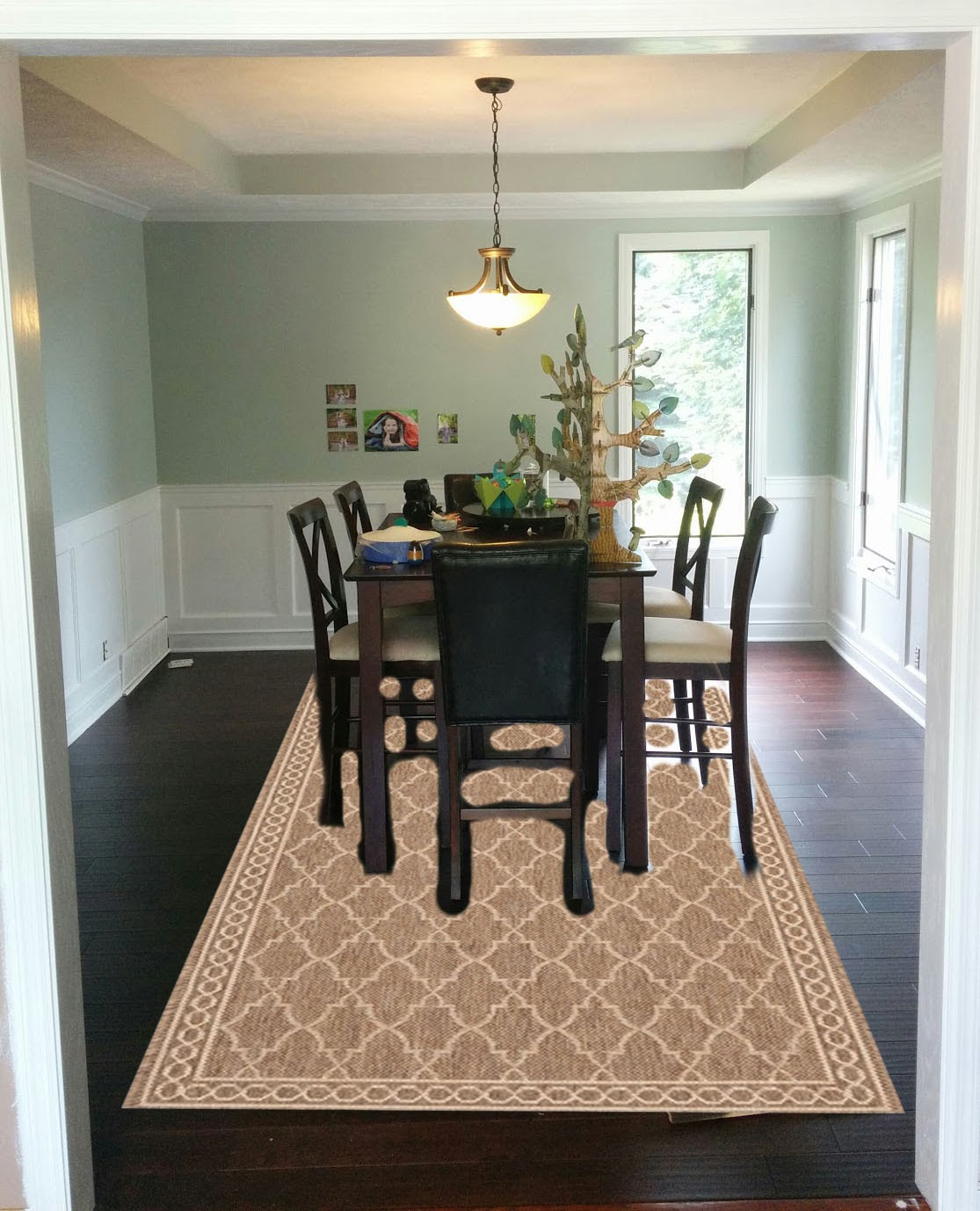 You Are My Licorice Dining Room Rugs